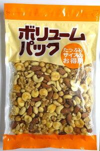 ミックスナッツ 塩味 いろいろ6種 400g ピーナッツ アーモンド カシューナッツ クルミ ガルバンソ ジャイアントコーン 1kgの半分500gより少し少な目