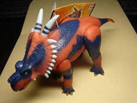 【中古】古代王者 恐竜キング 恐竜王列伝 アケロウサウルス ソフビ 人形