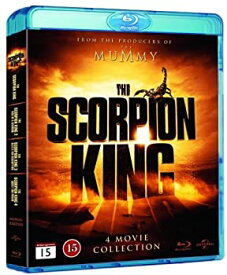 【中古】The Scorpion King (4 Film Collection) - 4-Disc Set ( The Scorpion King / The Scorpion King 2: Rise of a Warrior / The Scorpion King 3: