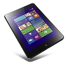 【中古】Lenovo ThinkPad 8 (ブラック/Atom Z3770/2/64/W8.1/8.3/OF2013-HB) 20BNA000JP