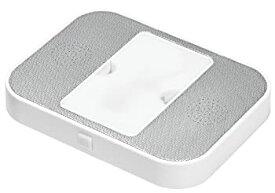 【中古】SOFTBANKSELECTION SBSロジテック 携帯電話充電台座+スピーカー ホワイト SBS-CSLG01/WH