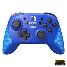 【中古】(任天堂ライセンス商品)ワイヤレスホリパッド for Nintendo Switch ブルー(Nintendo Switch対応)