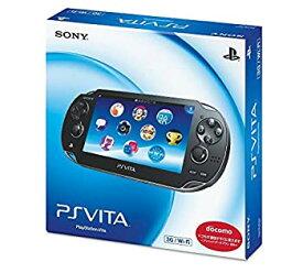【中古】PlayStation Vita (プレイステーション ヴィータ) 3G/Wi-Fiモデル クリスタル・ブラック 限定版 (PCH-1100AB01)