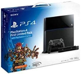 【中古】Playstation 4 First Limited Pack with Playstation Camera (プレイステーション4専用ソフト KNACK ダウンロード用 プロダクトコード 同梱)