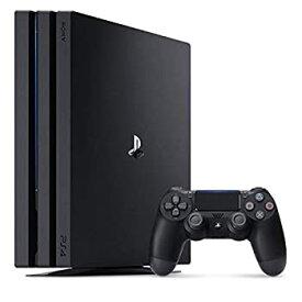 【中古】PlayStation 4 Pro ジェット・ブラック 2TB (CUH-7200CB01)(メーカー生産終了)