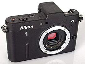 【中古】Nikon ミラーレス一眼カメラ Nikon 1 (ニコンワン) V1 (ブイワン) ボディ ブラック N1 V1 BK