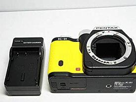 【中古】PENTAX デジタル一眼カメラ K-01 ボディ ブラック/イエロー K-01BODY BK/YE