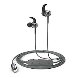 【中古】Anker SoundBuds Digital IE10 (ライトニング端子イヤホン)【ハイレゾ対応 / Apple MFi認証 / IPX3防水規格 / マイク内蔵】iPhone、iPad、 iPod