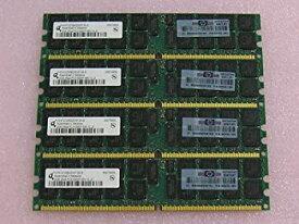 【中古】8GBメモリ標準セット(2GB*4) H P純正品 server memory 2GB DDR667 PC2-5300P ECC【バルク品】