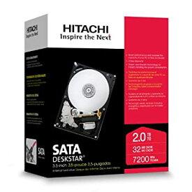 【中古】Hitachi Deskstar 7K2000 2TB SATA 3.5インチ 内蔵型HDD HDS722020ALA330