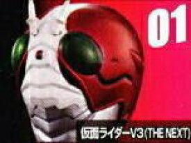 【中古】仮面ライダー ライダーマスクコレクション Vol.4 仮面ライダーV3(THE NEXT) 発行台座ver.