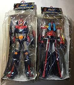 【中古】とるとるキャッチャーDX スーパーロボット大戦 ビッグサイズソフビフィギュア 全2種 コンバトラーV+勇者ライディーン バンプレスト