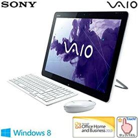 【中古】ソニー(VAIO) VAIO Tap 20 (W8 64/Ci5/WXGA++/タッチ/4G/外付けBDXL/1T/WLAN/BT/Office) ホワイト SVJ20218CJW