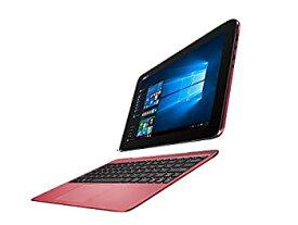 【中古】ASUS 2in1 タブレット ノートパソコン TransBook T100HA-ROUGE Windows10/Microsoft Office Mobile/10.1インチ/ルージュレッド