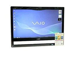 【中古】SONY デスクトップパソコン パソコン VPCL118FJ シルバー デスクトップ 一体型 本体 Windows7 Core 2 Duo ブルーレイ 地デジ/BS/CS 4GB/1TB