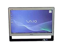 【中古】液晶一体型 Windows7 デスクトップパソコン パソコン SONY Pentium DVD 4GB/500GB