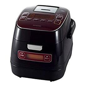 【中古】アイリスオーヤマ 炊飯器 IH 3合 銘柄量り炊き カロリー計算機能付き 米屋の旨み レッド RC-IA32-R