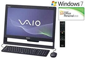 【中古】ソニー(VAIO) VAIO Jシリーズ (Windows7 Home Premium 64bit/Office2010) マットブラック VPCJ127FJ/BI