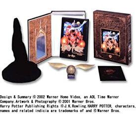 【中古】ハリー・ポッターと賢者の石 DVDスペシャルBOX 金のスニッチバージョン