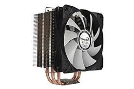 【中古】Gelid Solutions Tranquillo 4 CPU 4ヒートパイプKuehler 775/1150/1155/1566/1366およびAM2 AM3 Opteron Phenom II 120 mmファンPWM 12dBA