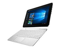 【中古】ASUS 2in1 タブレット ノートパソコン TransBook T100HA-WHITE Windows10/10.1インチ/シルクホワイト
