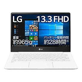 【中古】LG ノートパソコン gram 965g/バッテリー28時間/Core i5/13.3インチ/Windows 10/メモリ 8GB/SSD 256GB/ホワイト/13Z990-GA55J