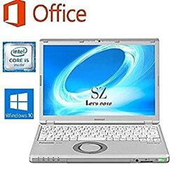 【中古】(SSD 480GB)(Microsoft Office2016搭載)(Win10搭載)Panasonic Let'snote CF-SZ5■第六世代 Core i5-6300U@2.4GHzメモリ4GB/大容量SSD 48