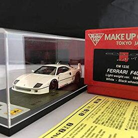 【中古】絶版品 1/43 make up メイクアップ eidolon アイドロン F40 Light weigtフェラーリ Ferrari white Black wheel