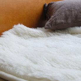 最高級オーストラリア産ウール100%使用 ウールボア 敷きパット ウールボアパットシーツ ピュアメリノウール使用 ウールマーク セミダブルサイズ ウール 敷き毛布 敷きパッド ムートン がわりの便利な ベッドパッド セミダブル