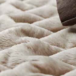 マイクロファイバー敷きパッドセミダブルマイクロファイバー敷きパッドスーパーふんわりゆめごこちのマイクロファイバー敷パッド極細繊維マイクロファイバーなめらかな風合いセラミック加工の遠赤綿増量タイプウオッシャブル洗濯可暖か敷き毛布
