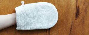 オーガニックコットンお肌つるつる和紡ボディミトン生成り石けんを使わない快適なバスタイム和紡布オーガニック素材の上洗剤を使わなくて良いので肌に優しく、手荒れ、皮膚の弱い方には特にお勧めです。手紡ぎ糸吸水率が抜群和紡布【RCP】【HLS_DU】05P01Jun14