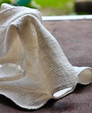 和紡布和紡健康タオル石けんがなくても洗えますオーガニックコットンオーガニックコットンタオル生成り和紡布オーガニック素材肌に優しく、手荒れ、敏感肌には特にお勧めです。手紡ぎ糸吸水率が抜群和紡布益久染織研究所