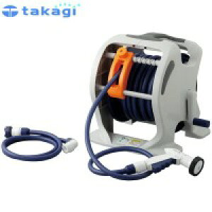 【代引き不可】takagi タカギ 園芸散水用品 ホースリール マーキュリーツイスター(NB30m)