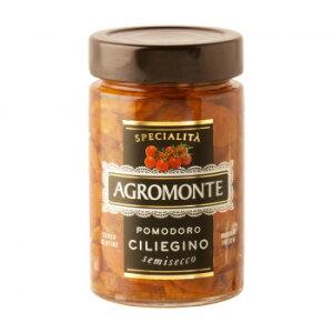 【代引き不可】アグロモンテ セミドライトマト オイル漬け チェリートマト 200g 12個セット 5221