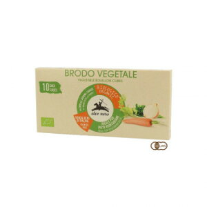 【代引き不可】アルチェネロ 有機野菜ブイヨン キューブタイプ 100g 24個セット C5-55