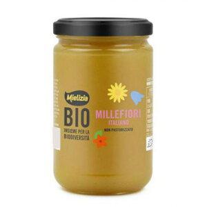 【代引き不可】ミエリツィア イタリア産有機百花ハチミツ 400g 6個セット C8-38