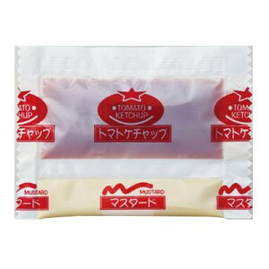 【代引き不可】タカハシソース ケチャップ&マスタード ツインパック 1200個(200×6) 040878
