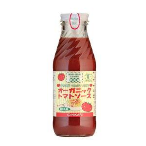 【代引き不可】光食品 有機JAS認定 オーガニックトマトソース あっさりトマト味 365g×20本
