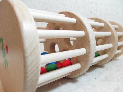 ドラム玉おとし【送料無料】ベビートイ 出産祝い 木のおもちゃ ドラム玉落とし