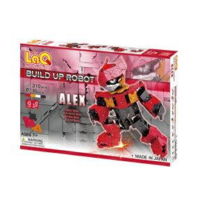 ラキュー・ビルドアップロボ・アレックス(LaQ・Build Up Robot・ALEX)造形ブロック