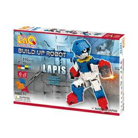 ラキュー・ビルドアップロボ・ラピス(LaQ・Build Up Robot・LAPIS)造形ブロック