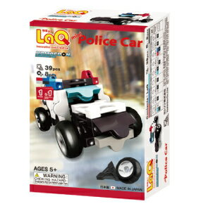ラキュー・ハマクロンコンストラクター・ミニ パトカー(LaQ Hamacron Constructor Mini Police Car)