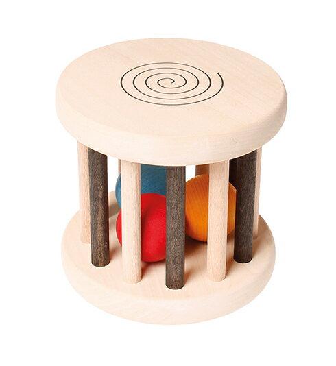 【送料無料】グリムス・ベビーロール・モノクローム Rolling Wheel,monochrome