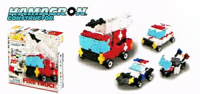 ラキュー・ハマクロンコンストラクター・ファイヤートラック(LaQ Hamacron Constructor Fire Truck)