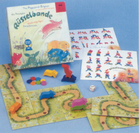 ボードゲーム すすめコブタくん(こぶたのレインボーレース)お誕生日 3歳 4歳 知育玩具 コブタ ドイツ