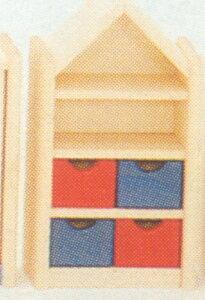 三角屋根の棚(ドールハウス用)