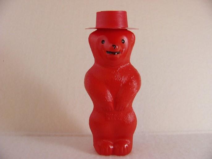 くまのシャボン玉(プステフィックス)赤
