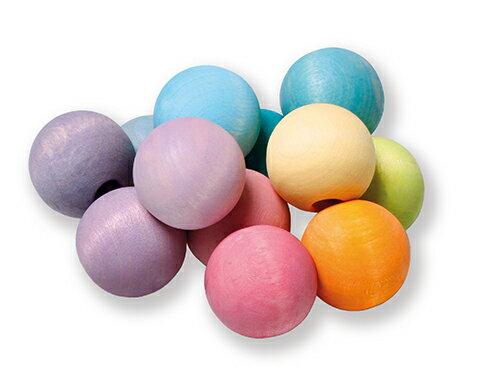 積み木 グリムス・パステルクーゲルン Wooden Balls Pastel