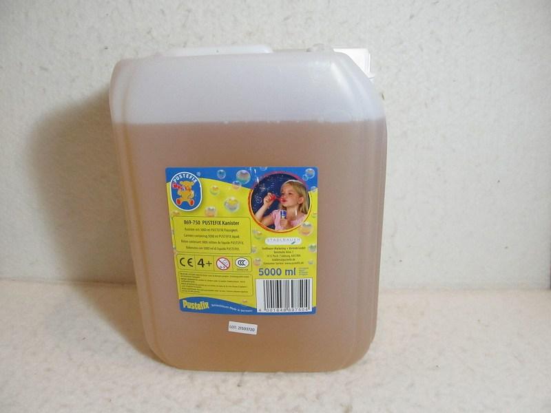 シャボン玉・5L補充液(プステフィックス)