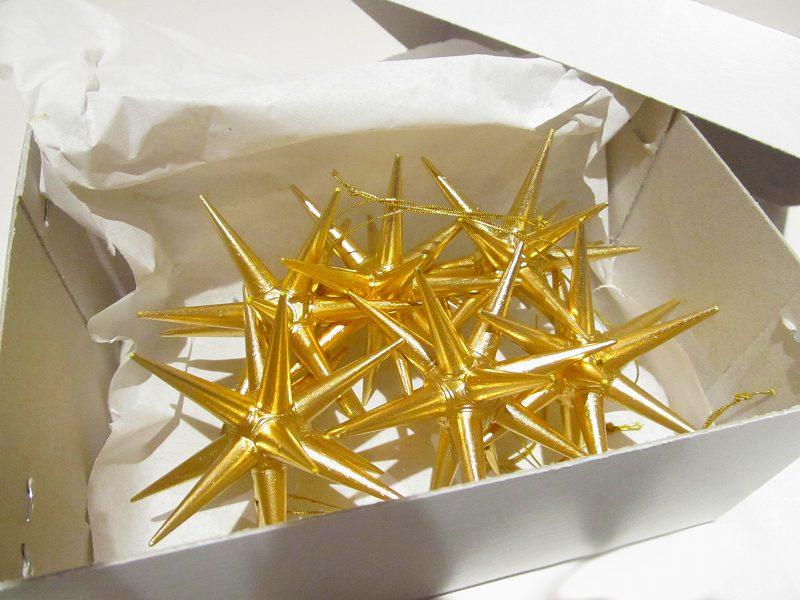 クリスマスオーナメント ベツレヘムの星(小)【あす楽対応】木製 (6個セット)【正規輸入品】【送料無料】エルツ ザイフェン  アルビン・プライスラー クリスマスツリー オーナメント ドイツ ニキティキ